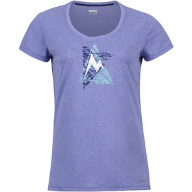 Marmot W's Post Time Tee Lilac